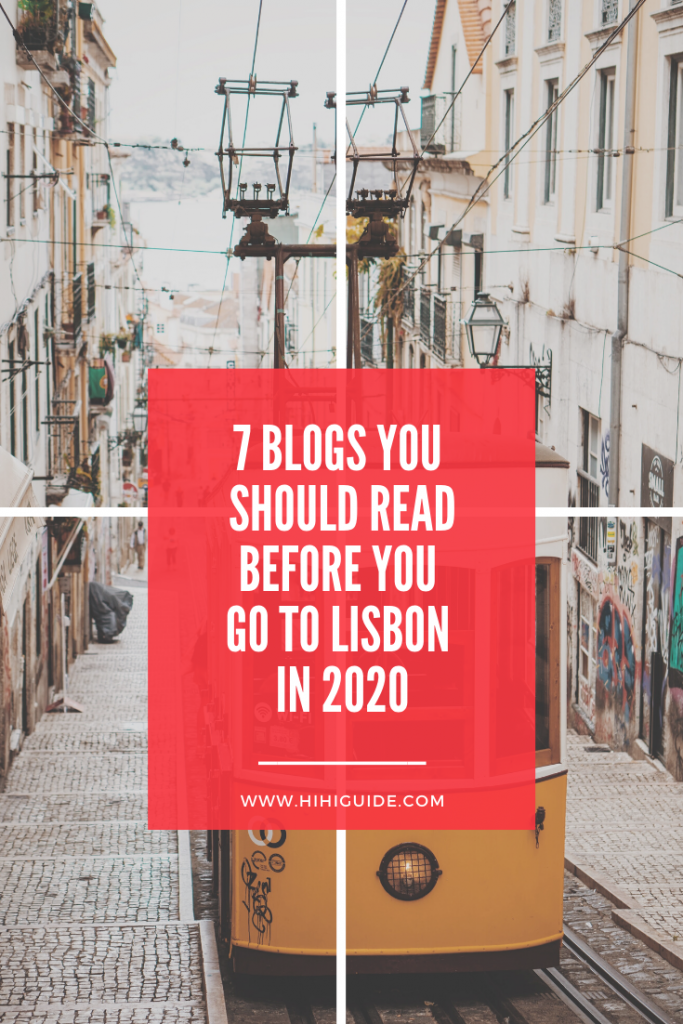 Things to do in Lisbon PINTEREST